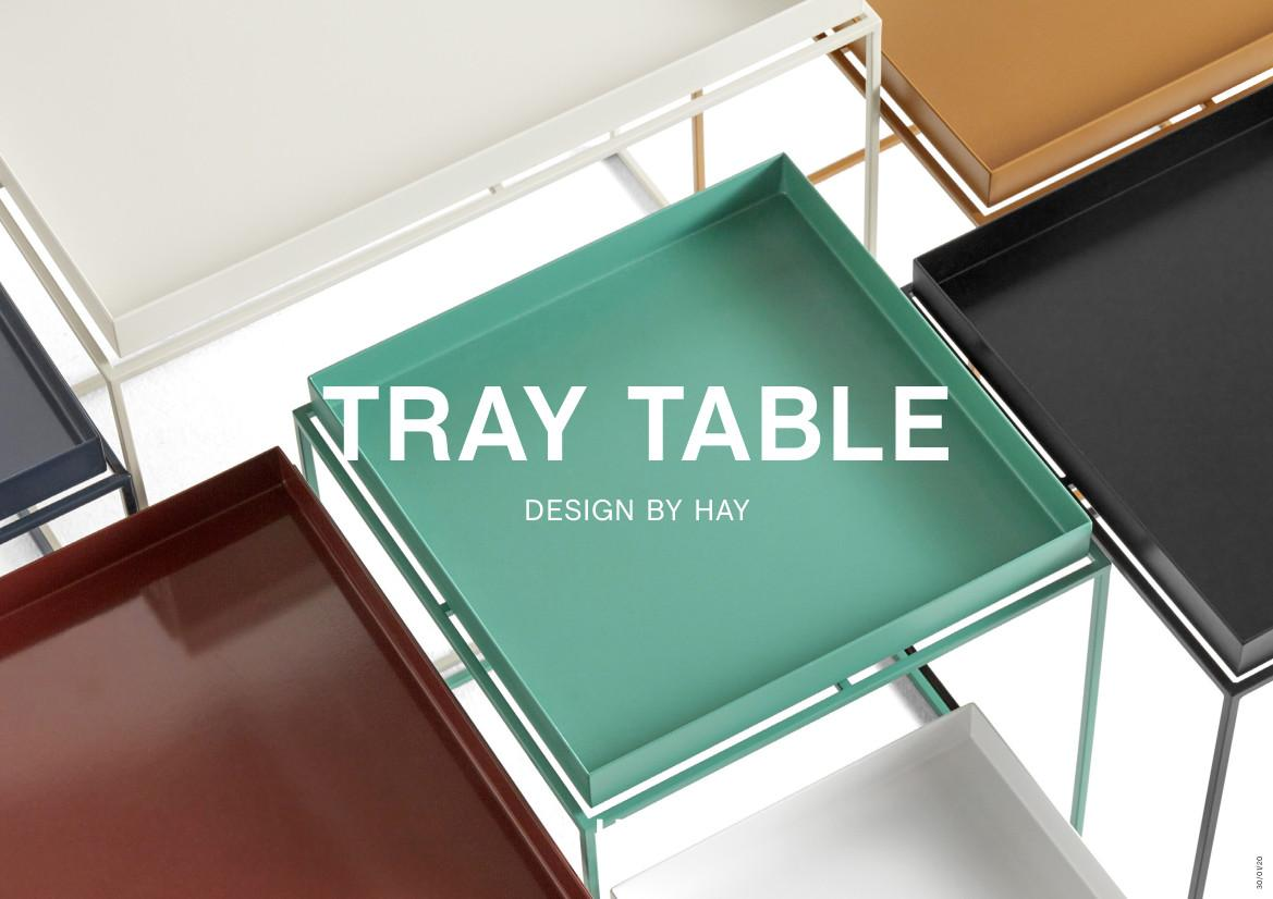 hay tray tables by hay 2010 designer furniture by. Black Bedroom Furniture Sets. Home Design Ideas