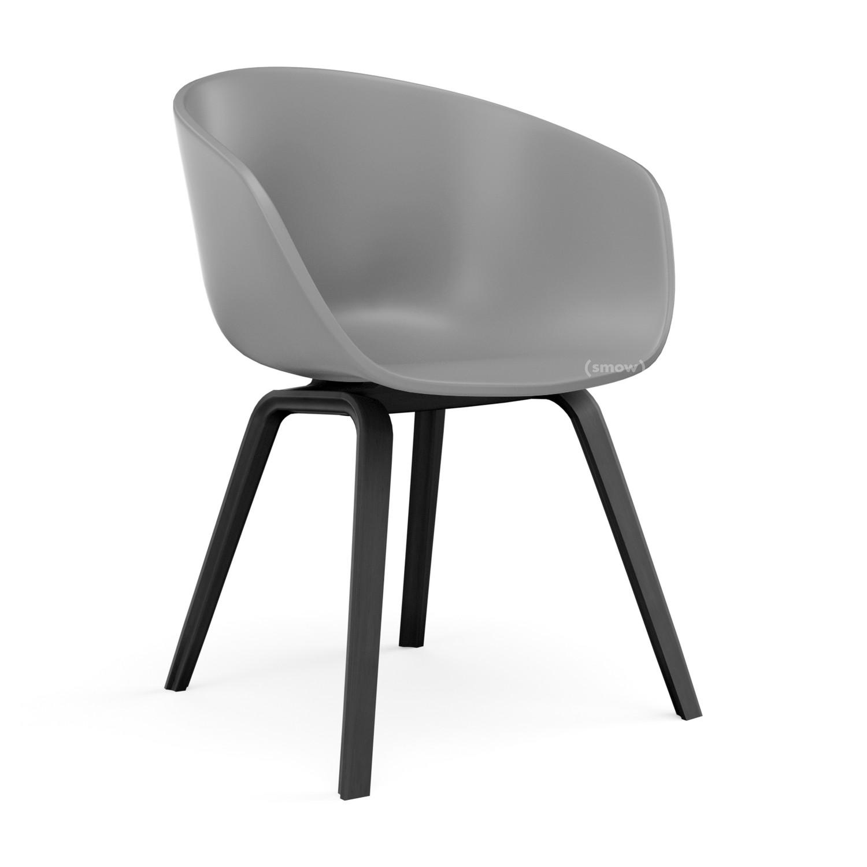Hay About A Chair Aac 22 Concrete Grey Eiche Schwarz Gebeizt Von