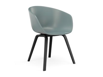 About A Chair AAC 22 Dusty blue Eiche schwarz gebeizt