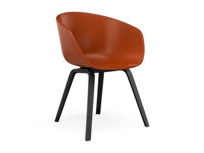 About A Chair AAC 22 Orange|Eiche schwarz gebeizt