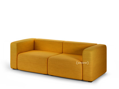 Mags Sofa 2,5 Sitzer (B 228) Steelcut Trio 453 - gelb