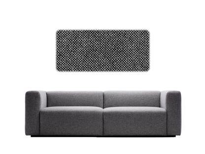 Mags Sofa 2,5 Sitzer (B 228)|Hallingdal 166 - schwarz/weiß