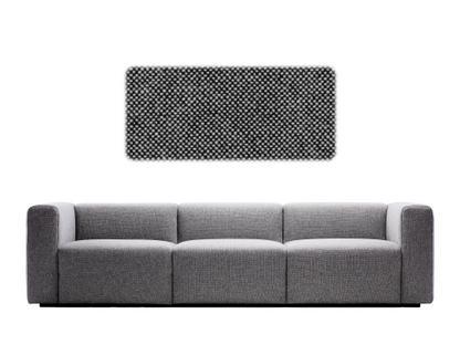 Mags Sofa 3 Sitzer (B 268,5)|Hallingdal 166 - schwarz/weiß