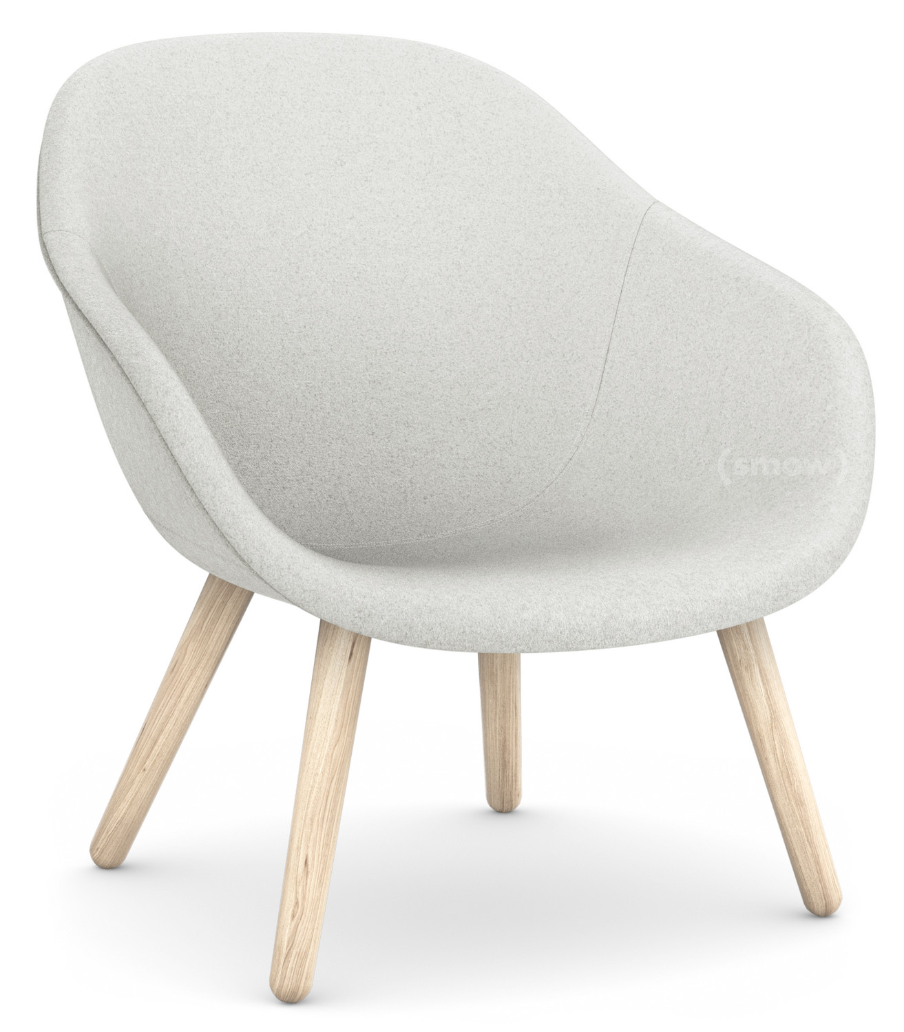 Hay About A Lounge Chair Low AAL 20, Divina Melange 20   hellgrau ...