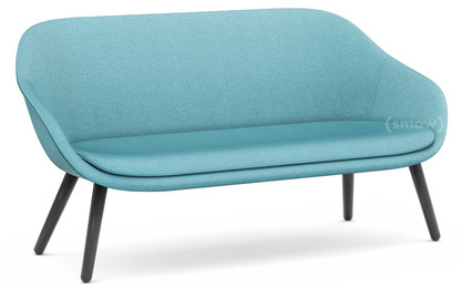 About A Lounge Sofa for Comwell Divina Melange 721 - aqua|Eiche schwarz gebeizt