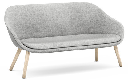 About A Lounge Sofa for Comwell Hallingdal 130 - hellgrau|Eiche geseift