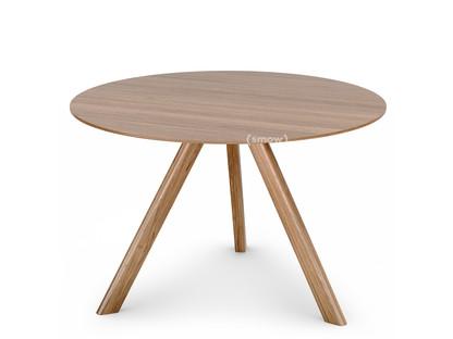 Copenhague Round Table CPH20 Ø 120 x H 74 Eiche lackiert Eichefurnier