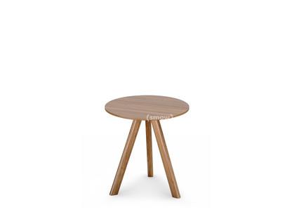 Copenhague Round Table CPH20 Ø 50 x H 49|Eiche lackiert|Eichefurnier