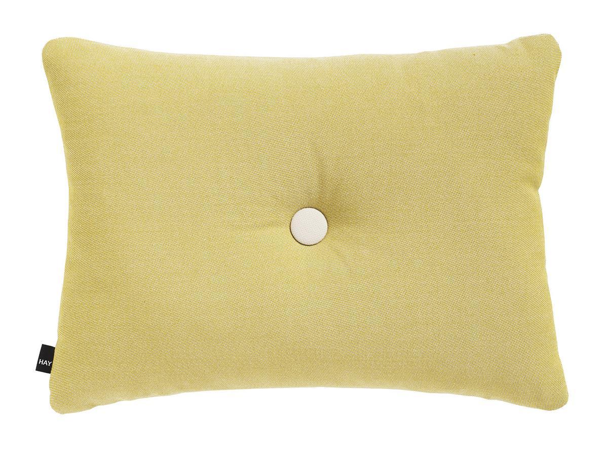 Dot Cushion Kissen Surface Burgundy Hay