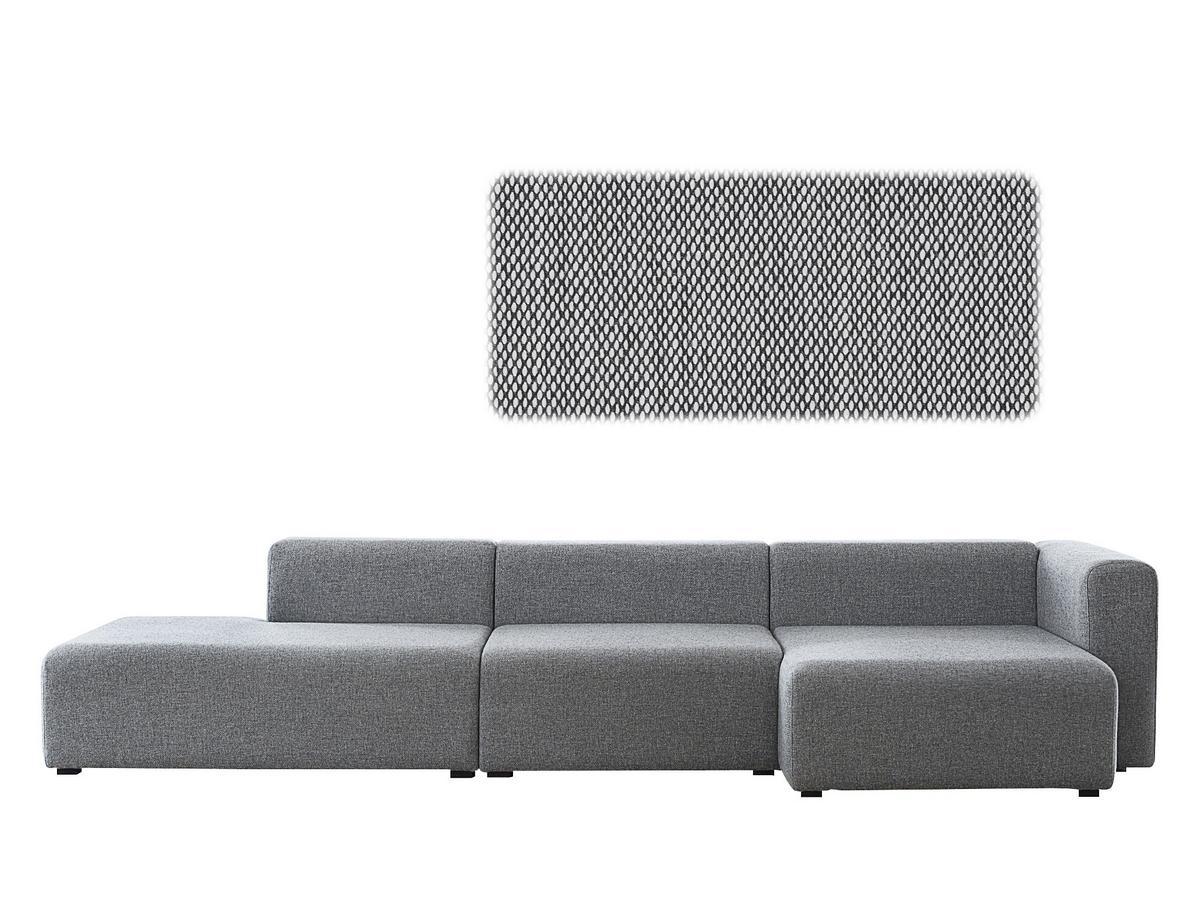 Hay Mags Sofa Mit Recamiere Von Hay Designermobel Von Smow De
