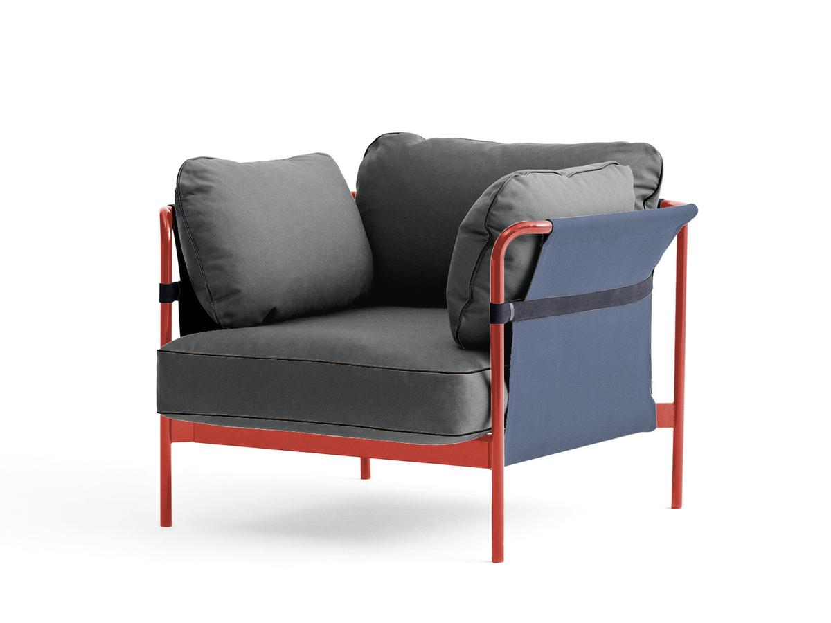 Hay Can Sessel Warm Red Blau Canvas Grau Von Ronan Erwan