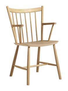 J42 Chair Eiche, matt lackiert