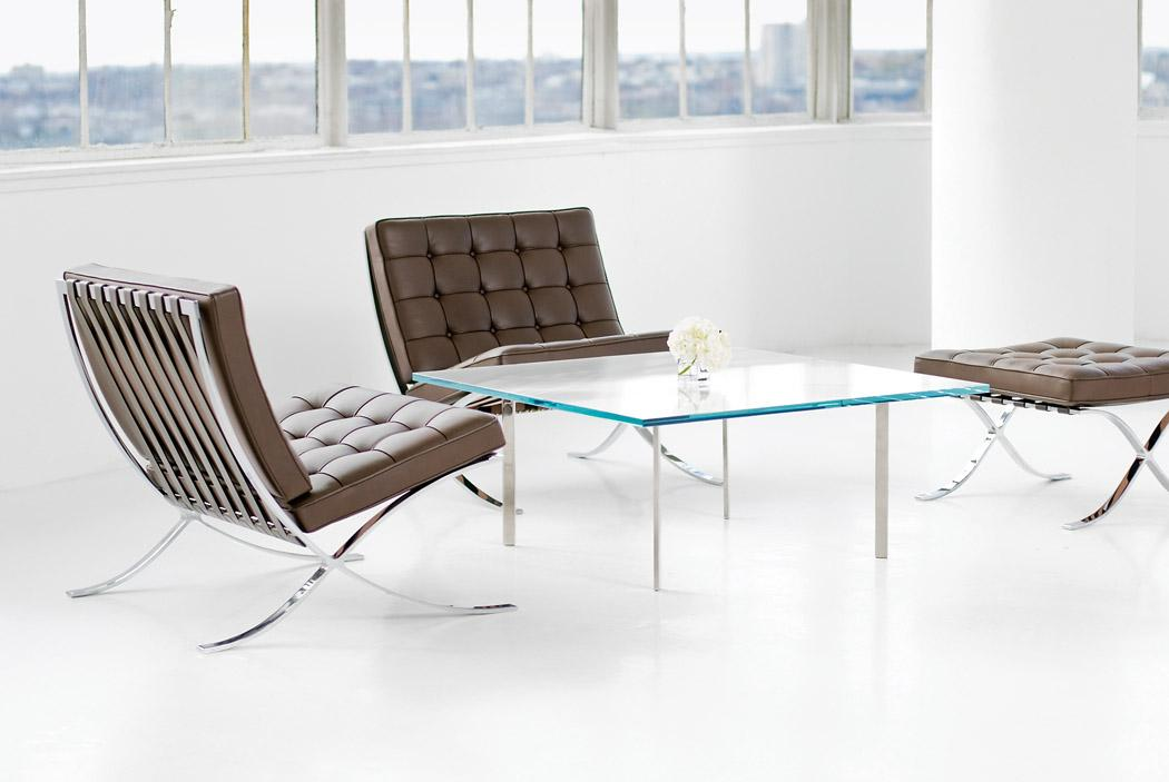 Knoll International Barcelona Chair by Ludwig Mies van der Rohe 1929 - Designer furniture by smow.com & Knoll International Barcelona Chair by Ludwig Mies van der Rohe ...