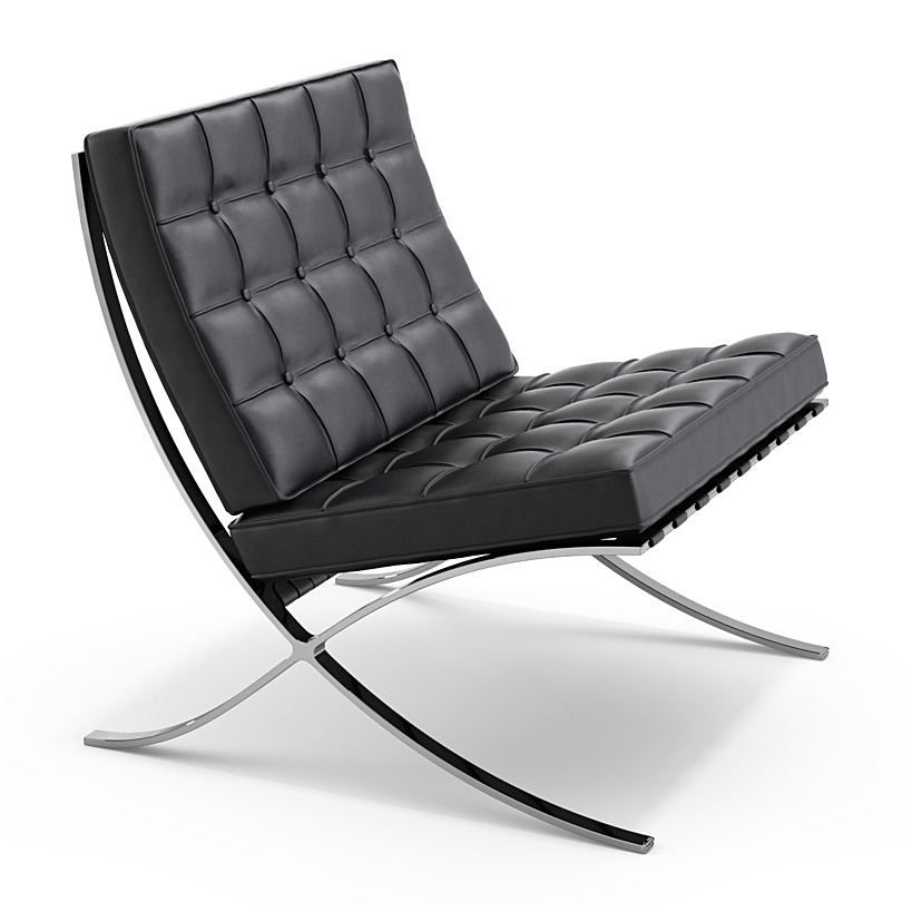 Knoll international barcelona sessel von ludwig mies van for Barcelona sessel nachbau
