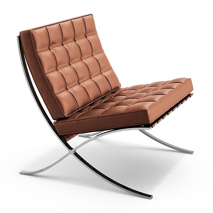 knoll international barcelona sessel von ludwig mies van der rohe 1929 designerm bel von. Black Bedroom Furniture Sets. Home Design Ideas