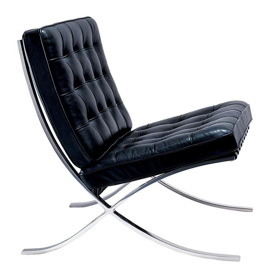 knoll international barcelona sessel von ludwig mies van der rohe 1929 designerm bel von. Black Bedroom Furniture Sets. Home Design Ideas