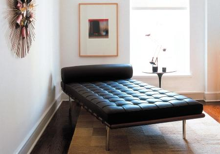 The Barcelona Day Bed From Ludwig Mies Van Der Rohe Is Distributed By Knoll  International