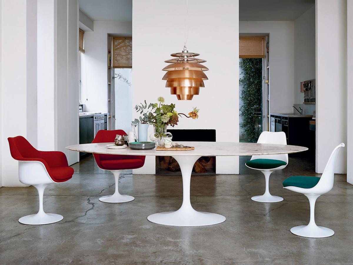 knoll international saarinen tulip stuhl von eero saarinen 1955 1957 designerm bel von. Black Bedroom Furniture Sets. Home Design Ideas