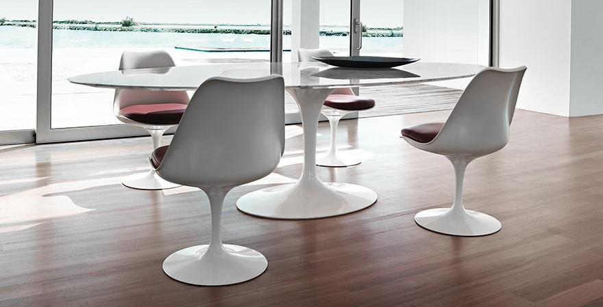 knoll international saarinen oval dining table by eero saarinen, Esszimmer dekoo