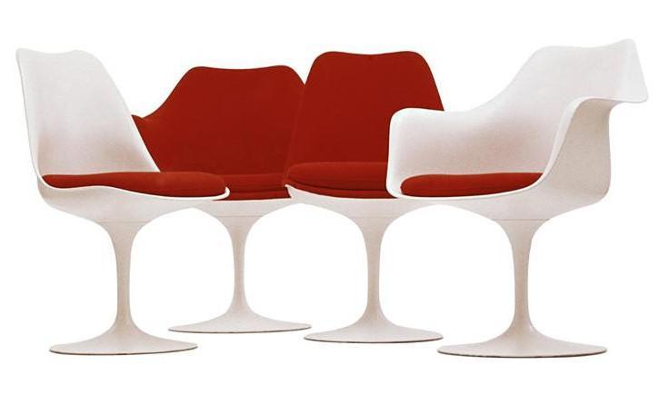 Saarinen Tafel Ovaal : Eero saarinen tulip dining table steelclassic