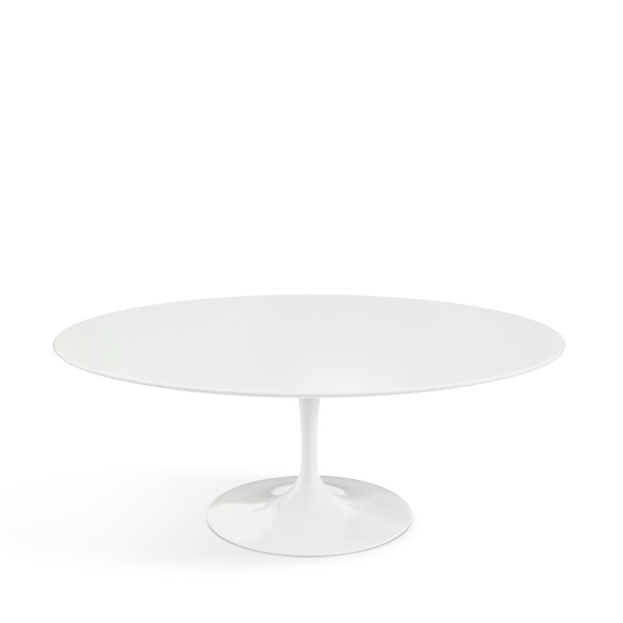 Knoll International Saarinen Couchtisch oval von Eero