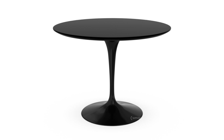 Esstisch rund schwarz  Knoll International Saarinen Esstisch rund, 91 cm, schwarz, Laminat ...