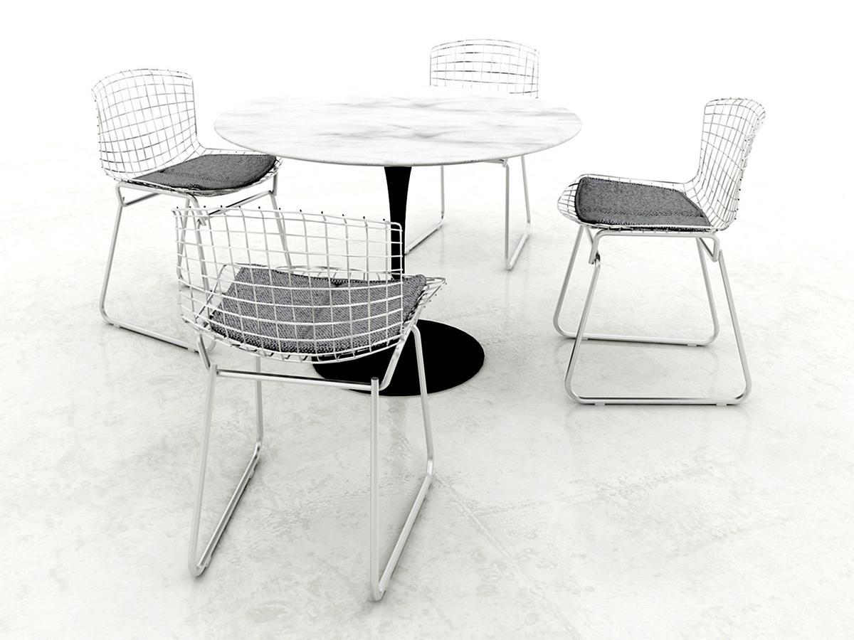 Knoll tisch rund marmor design for Tisch rund marmor