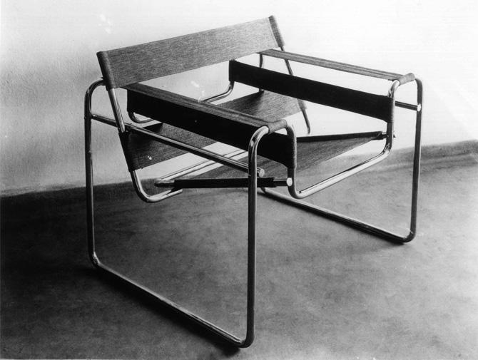 knoll international wassily sessel von marcel breuer 1925. Black Bedroom Furniture Sets. Home Design Ideas