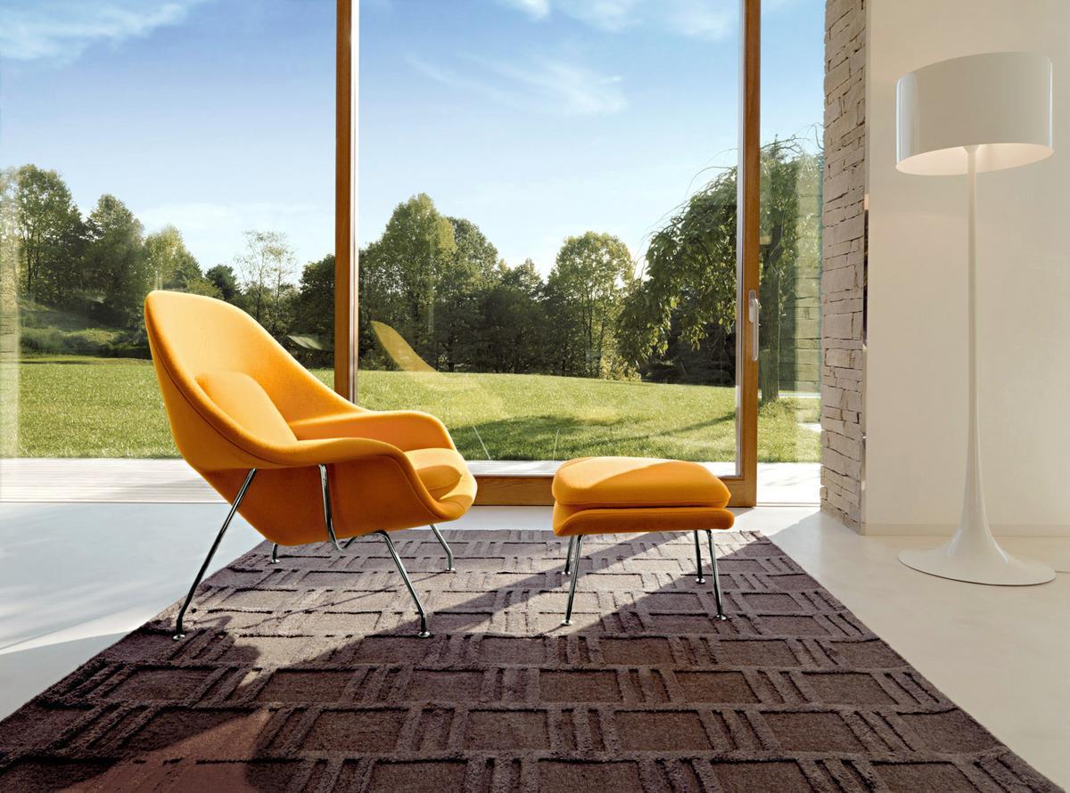 knoll international womb hocker von eero saarinen 1948 designerm bel von. Black Bedroom Furniture Sets. Home Design Ideas