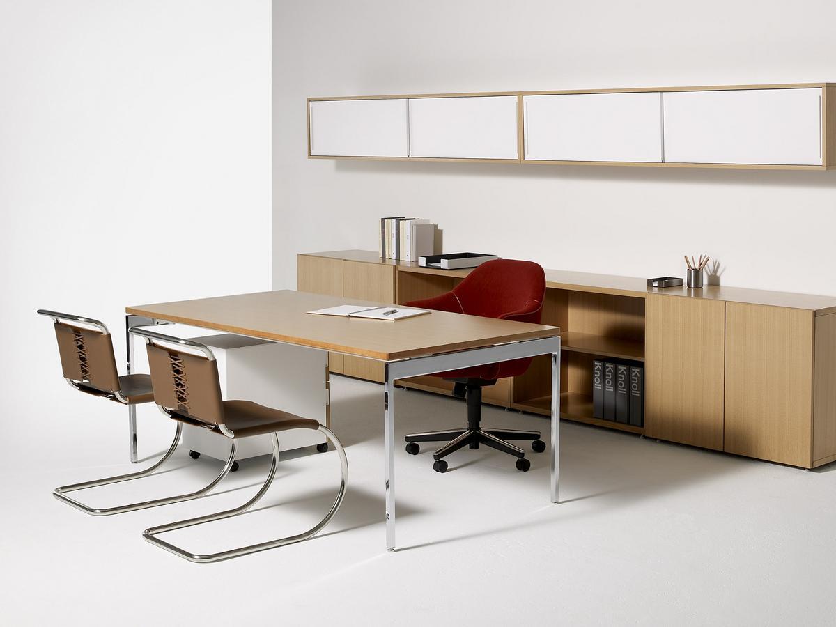 knoll international mr stuhl von ludwig mies van der rohe 1927 designerm bel von. Black Bedroom Furniture Sets. Home Design Ideas