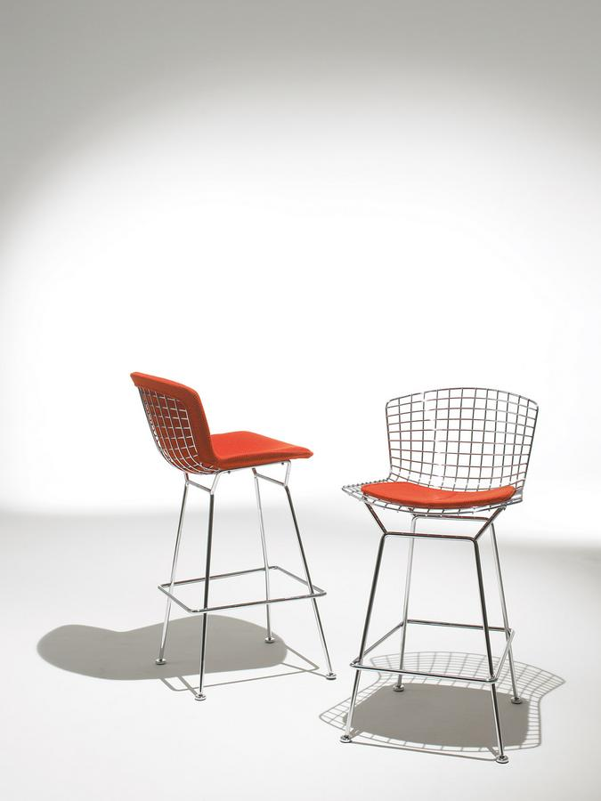knoll international bertoia barstuhl von harry bertoia 1952 designerm bel von. Black Bedroom Furniture Sets. Home Design Ideas