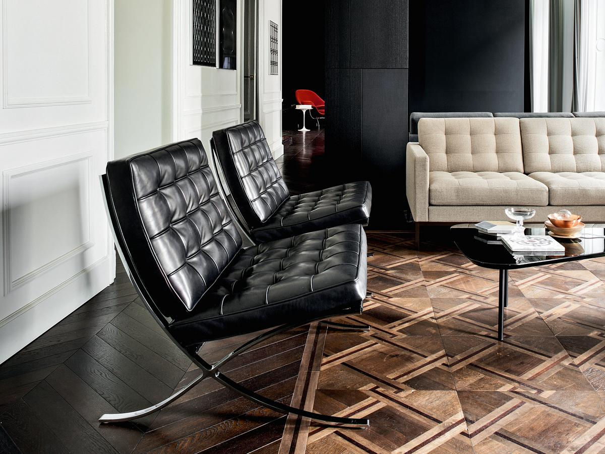 knoll international barcelona sessel relax von ludwig mies. Black Bedroom Furniture Sets. Home Design Ideas