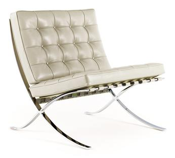 Knoll International Barcelona Sessel Relax Leder Venezia