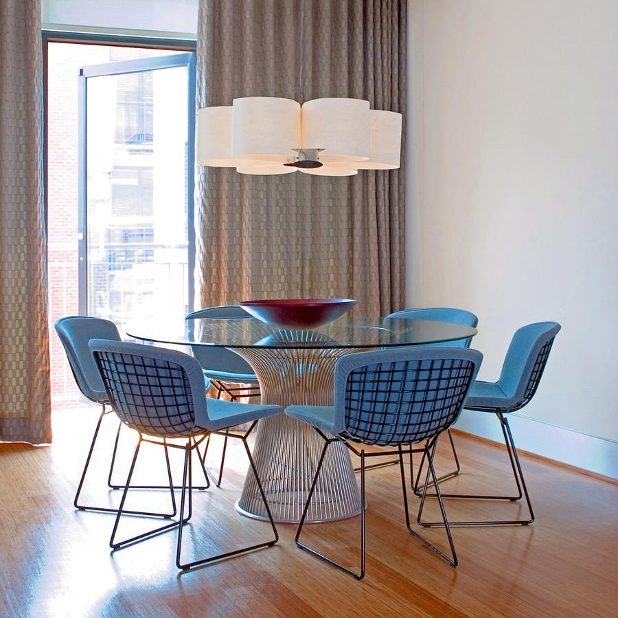 knoll international gleiter 1 satz f r bertoia stuhl von. Black Bedroom Furniture Sets. Home Design Ideas