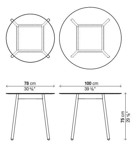 Esstisch Harry Mömax ~ Kristalia BCN Esstisch von Harry & Camila  Designermöbel von smowde