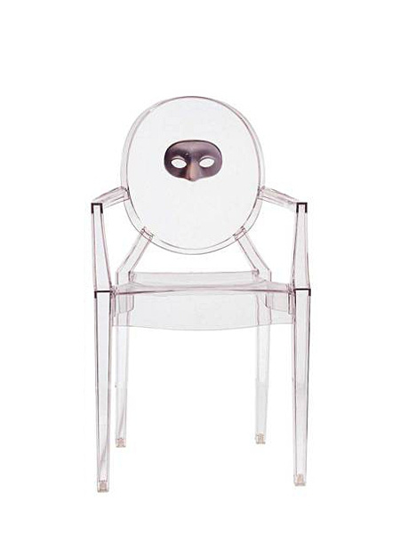 Kartell Louis Ghost, Motiv-Maske von Philippe Starck - Designermöbel ...