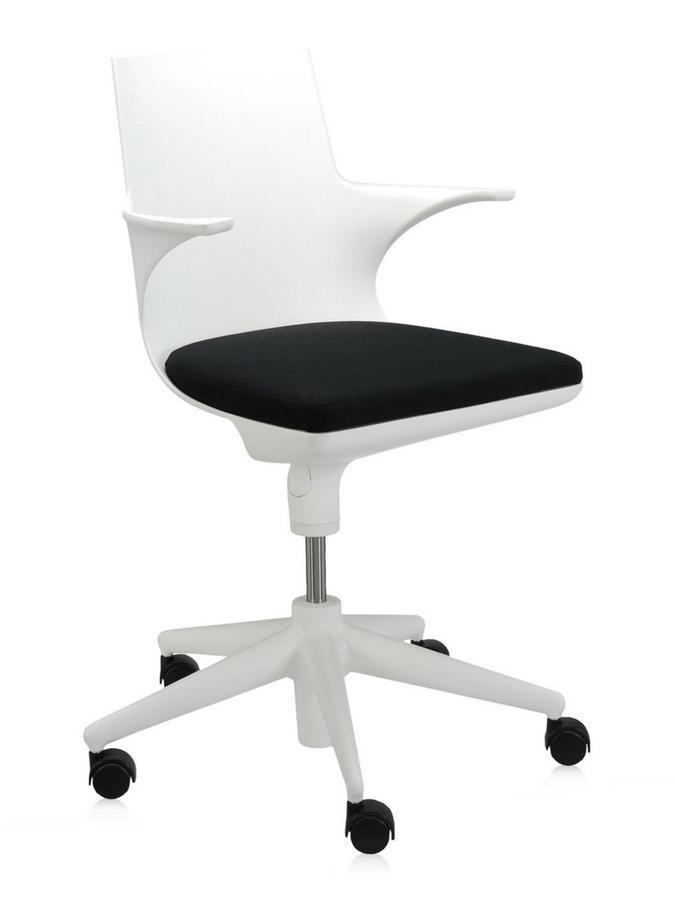 Kartell Drehstuhl kartell spoon chair antonio citterio toan nguyen