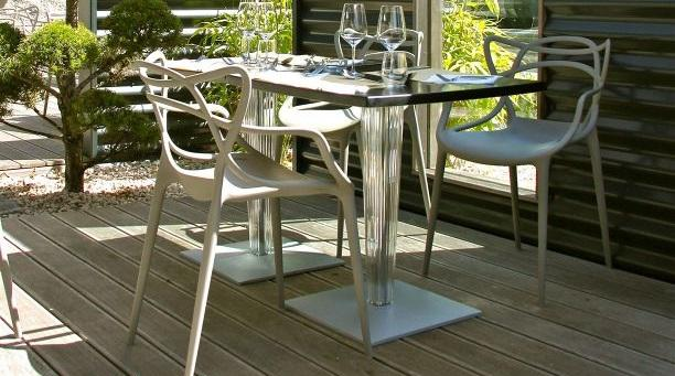 Kartell TopTop Dining Table Small by Philippe Starck Eugeni