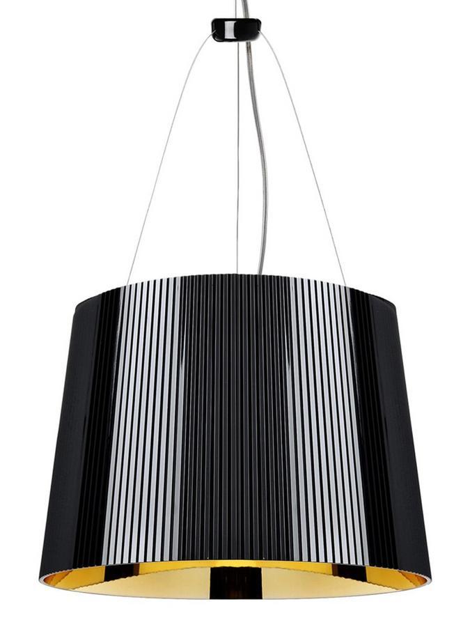 kartell g undurchsichtig schwarz gold von ferruccio. Black Bedroom Furniture Sets. Home Design Ideas
