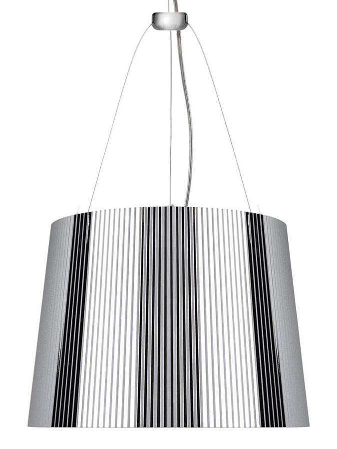kartell g undurchsichtig verchromt von ferruccio. Black Bedroom Furniture Sets. Home Design Ideas