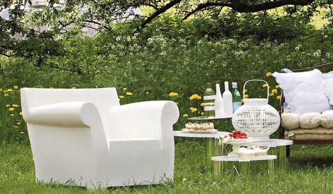 Kartell Bubble Club Armchair by Philippe Starck 2010 Designer