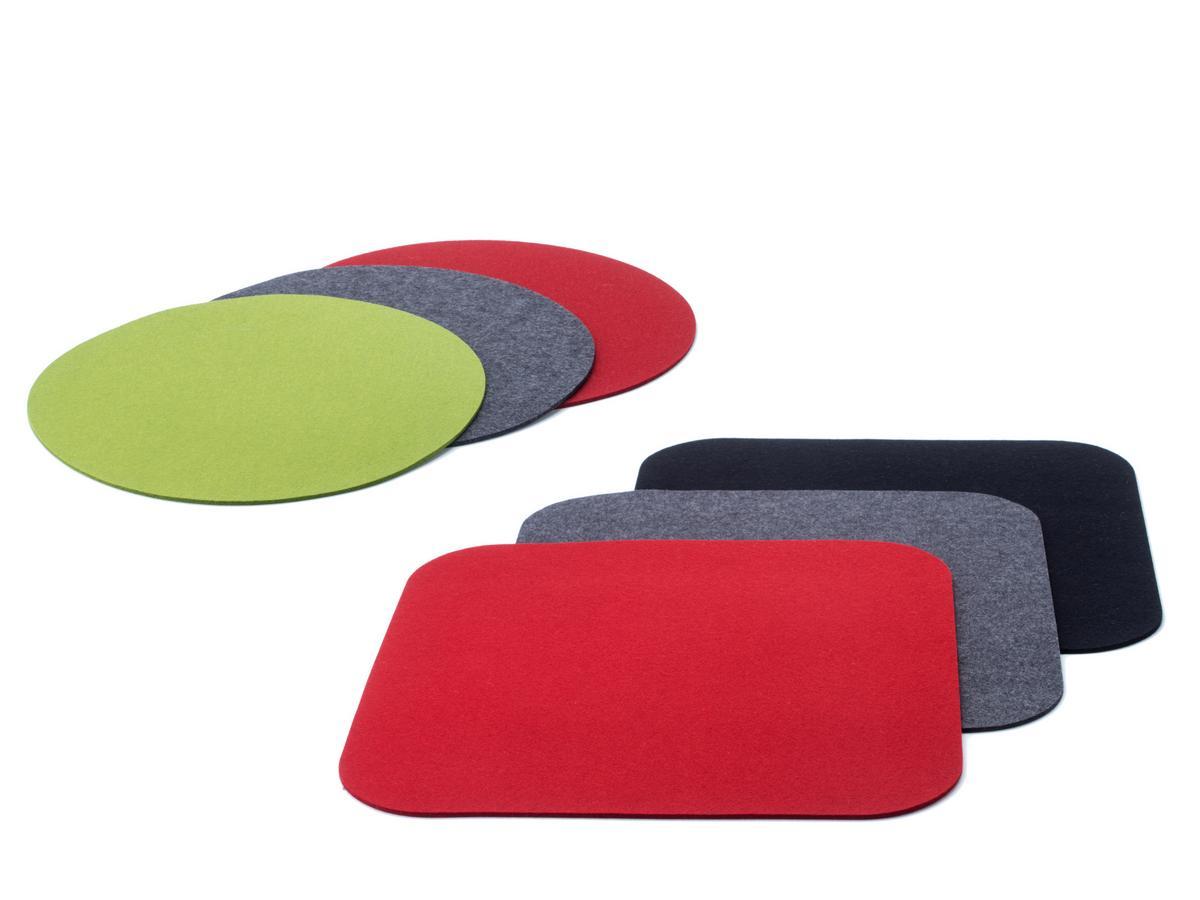 kartell filzauflage f r componibili 1 rund 30 cm maigr n designerm bel von. Black Bedroom Furniture Sets. Home Design Ideas