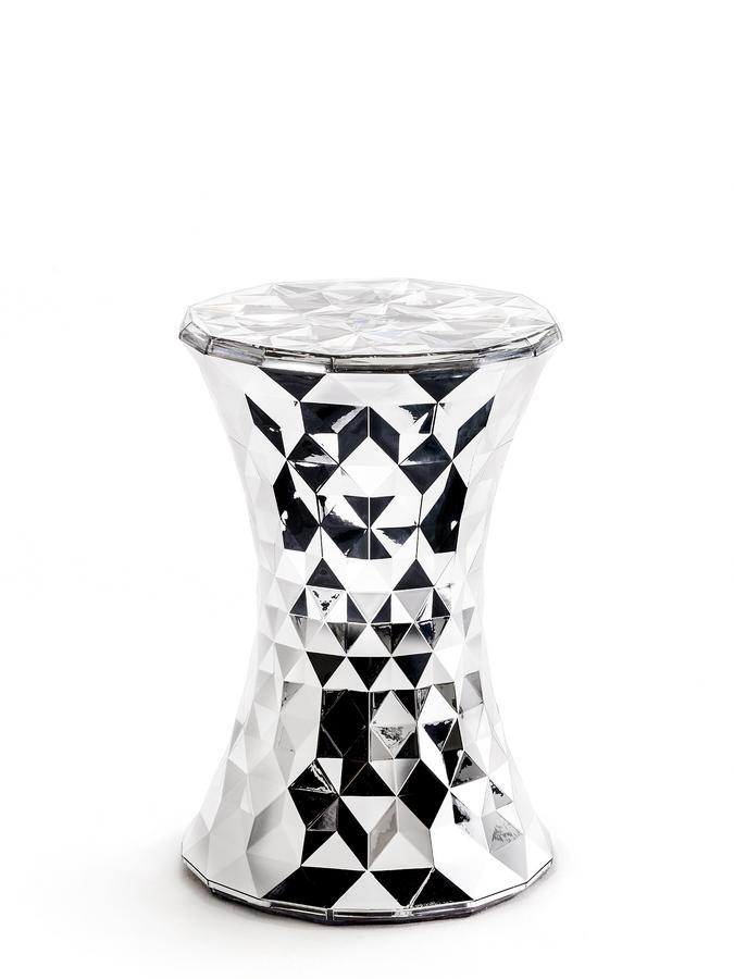 kartell stone metallic von marcel wanders 2014. Black Bedroom Furniture Sets. Home Design Ideas
