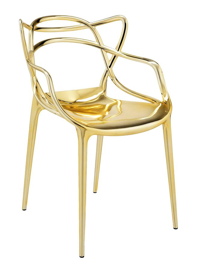 kartell masters metallic von philippe starck eugeni. Black Bedroom Furniture Sets. Home Design Ideas
