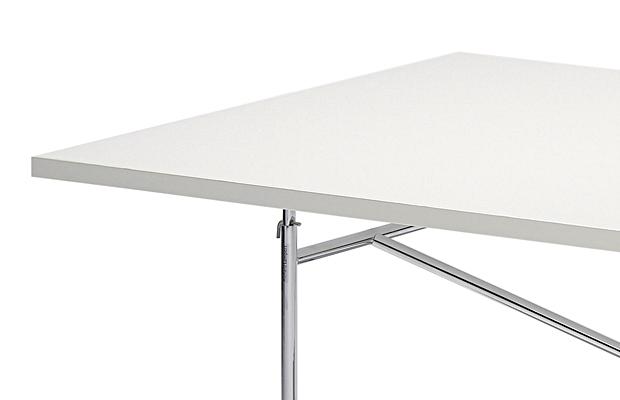 Tischplatte weiß  Richard Lampert Tischplatte für Eiermann Tischgestelle, Melamin ...