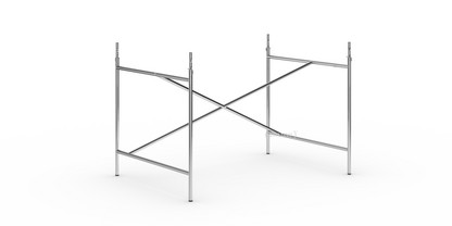 Eiermann 1 Tischgestell  Chrom|versetzt|110 x 78 cm|Mit Verlängerung (Höhe 72-85 cm)