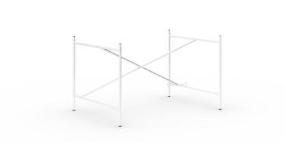Eiermann 1 Tischgestell  Weiß|versetzt|110 x 78 cm|Ohne Verlängerung (Höhe 66 cm)