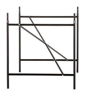 richard lampert eiermann 1 tischgestell schwarz mittig 110 x 78 cm mit verl ngerung von. Black Bedroom Furniture Sets. Home Design Ideas