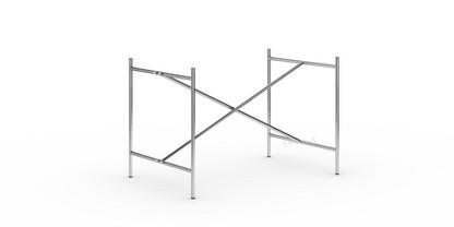 Eiermann 2 Tischgestell  Chrom|senkrecht, mittig|100 x 66 cm|Ohne Verlängerung (Höhe 66 cm)
