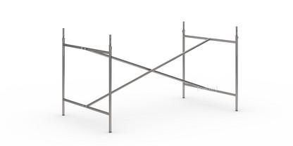 Eiermann 2 Tischgestell  Stahl farblos senkrecht, mittig 135 x 78 cm Mit Verlängerung (Höhe 72-85 cm)